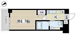 エステムコート駒込六義園[7階]の間取り