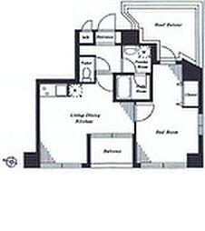 大森東2丁目マンション[5F号室]の間取り
