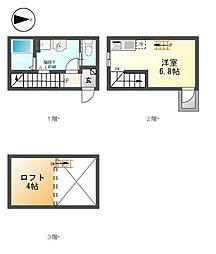 エクセルシアK−I[1階]の間取り
