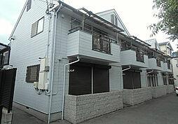 大阪府茨木市上穂積3丁目の賃貸アパートの外観