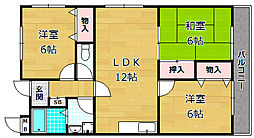 ラガーハイツI[2階]の間取り