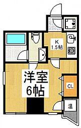 第五みずほ館[3階]の間取り