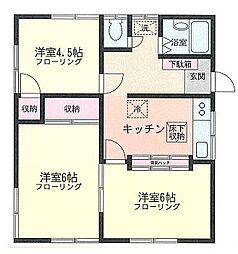 MIKI・HOUSE[1号室]の間取り