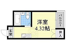 Collection城北1[3階]の間取り