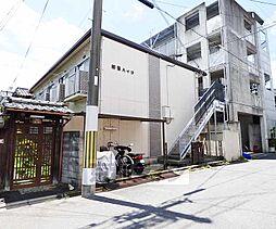 京都府京都市北区小山上初音町の賃貸アパートの外観