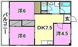 メゾン和泉(和泉北)[307 号室号室]の間取り
