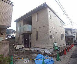 京都府京都市左京区一乗寺里ノ前町の賃貸アパートの外観