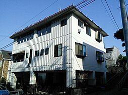 東京都日野市大坂上1丁目の賃貸マンションの外観