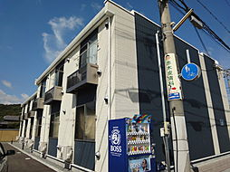 兵庫県姫路市白浜町神田1丁目の賃貸アパートの外観