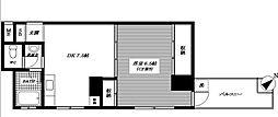 東京都板橋区東坂下2丁目の賃貸マンションの間取り