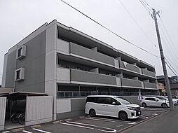 愛知県清須市西枇杷島町城並2丁目の賃貸マンションの外観
