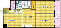 新中広ビル[605号室]の間取り