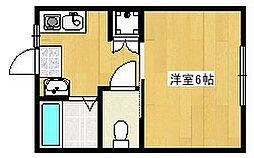 メゾンルエ[2階]の間取り