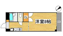 コルトンハウス(敷礼0)[202号号室]の間取り