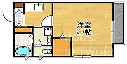 75ktmizuki[101号室号室]の間取り