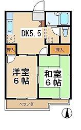 メゾンラフィット[2階]の間取り
