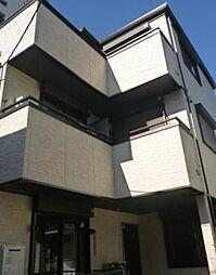 東京都新宿区北町の賃貸アパートの外観