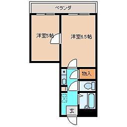 宮崎県宮崎市恒久南3丁目の賃貸アパートの間取り