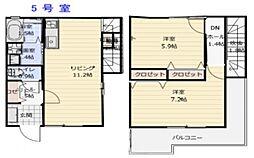 オーク相生[2階]の間取り