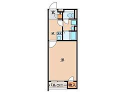 レオネクストL栄谷[2階]の間取り
