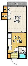 ホワイトヒルハウス[424号室]の間取り