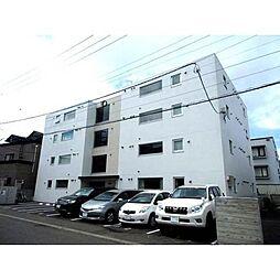 北海道札幌市豊平区平岸四条8丁目の賃貸マンションの外観