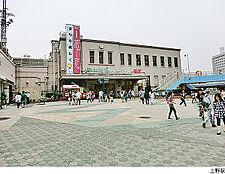 上野駅(現地まで720m)
