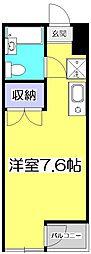 アメニティコウヤマ第8ガーデン[3階]の間取り