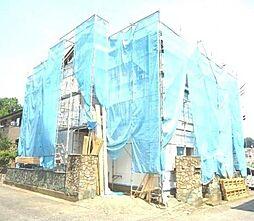 神奈川県川崎市多摩区栗谷1の賃貸アパートの外観