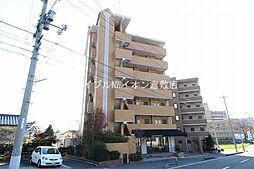 岡山県倉敷市二子の賃貸マンションの外観