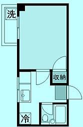 ウェルストーン新城[3階]の間取り