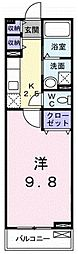 ポラリス[1階]の間取り