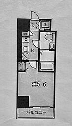 ザ・レジデンス横浜青木橋[702号室]の間取り