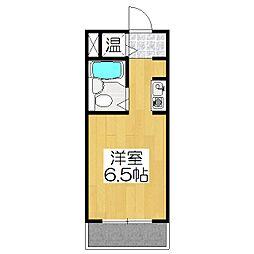 ライオンズマンション京都烏丸[102号室]の間取り