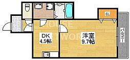 シャトル京都駅[405号室号室]の間取り
