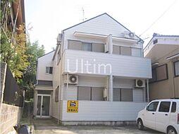 京都府京都市伏見区深草谷口町の賃貸アパートの外観