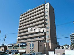 北海道札幌市白石区南郷通13丁目南の賃貸マンションの外観