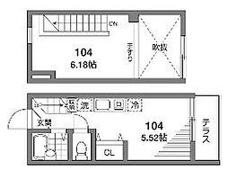 ルアンカパル[1階]の間取り