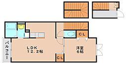 プリムローズエム[3階]の間取り