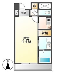 プライムメゾン東桜[11階]の間取り