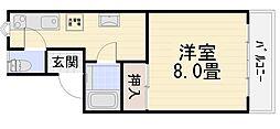 エスポワール伏見台[123号室号室]の間取り