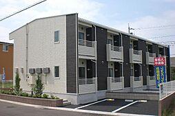 埼玉県越谷市レイクタウン5丁目の賃貸アパートの外観
