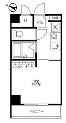 愛川フラット[401号室]の間取り