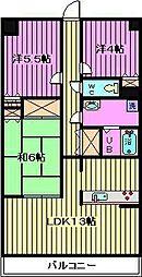 SGKマンションパピオール[409号室]の間取り