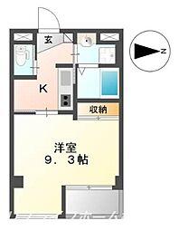 キアーズII[5階]の間取り
