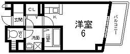 プリムローズ・HY2[201号室号室]の間取り