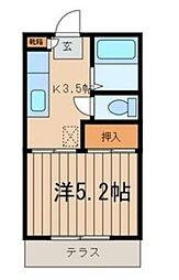 フューチャーコーポサエキ[102号室]の間取り
