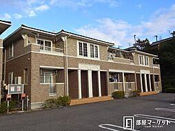 愛知県みよし市三好町夕田の賃貸アパートの外観