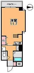 フレアコート奈良[7階]の間取り