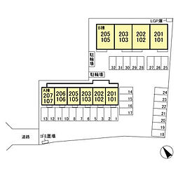 (仮)D-room西野田 B[2階]の外観